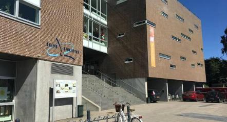 Bibliotekets facade