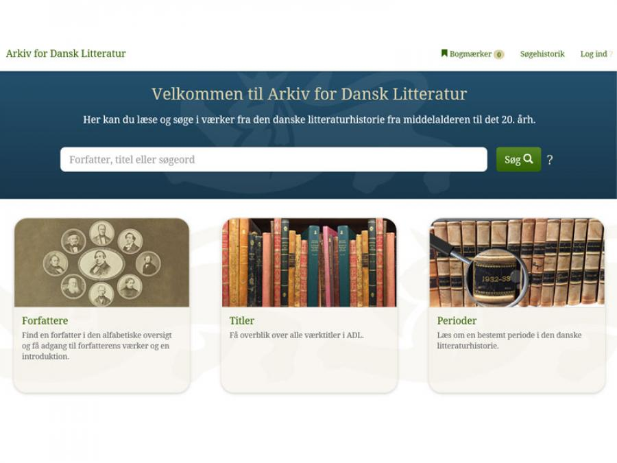 Arkiv for Dansk Litteratur