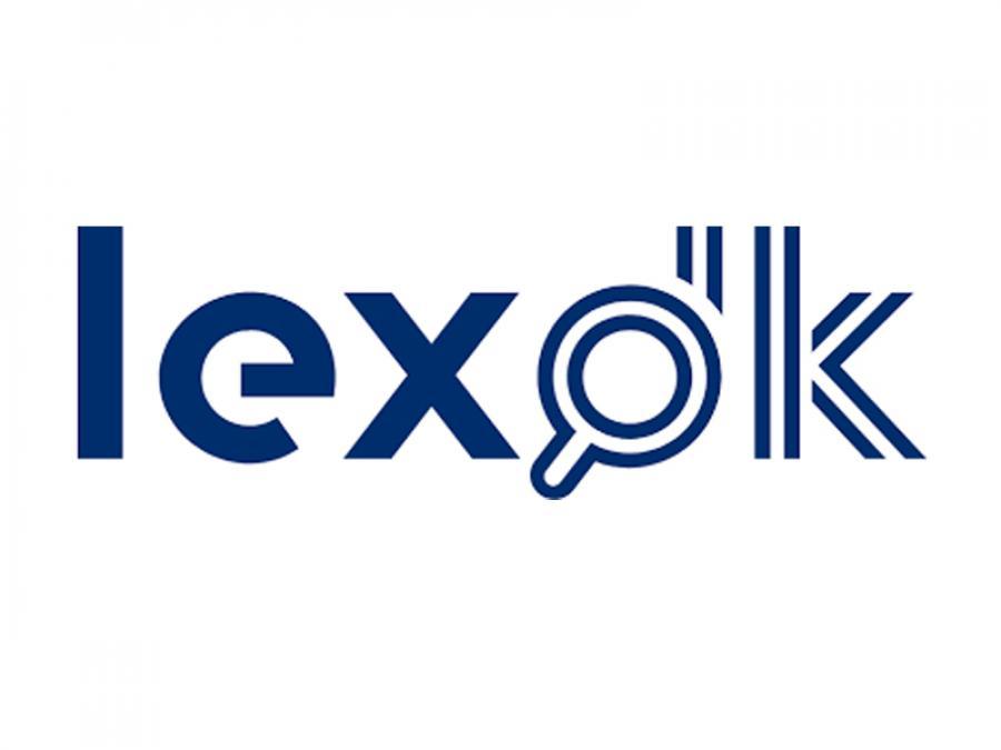 Logo på det store opslagsværk lex.dk