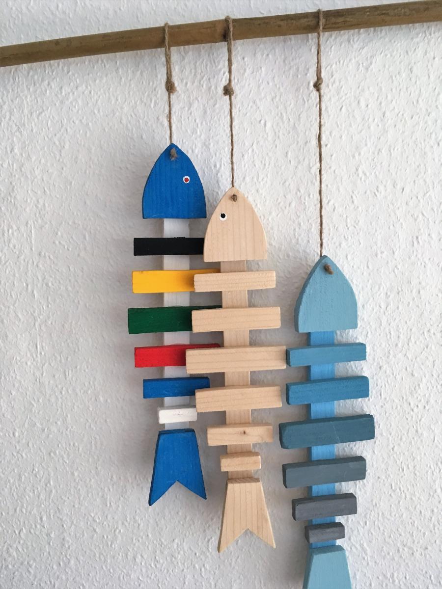 Sjov med træ – fisk