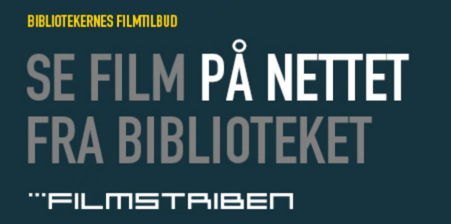 Se film på biblioteket
